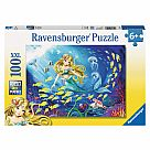 100 Piece Puzzle, Little Mermaid