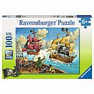 100 Piece Puzzle, Pirate Battle