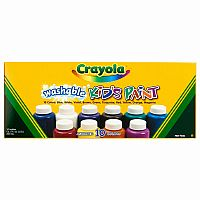 Crayola 10 ct. Assorted Color Washable Paint