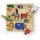 123 Zoo Wooden Stacking Puzzle