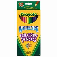 Crayola Watercolor Pencils, Set of 12