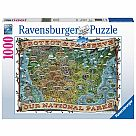 1000 Piece Puzzle, Protect and Preserve USA