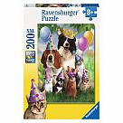 200 Piece Puzzle, Animal Party