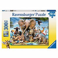 300 Piece Puzzle, African Friends