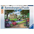 500 Piece Puzzle, Visiting the Mansion