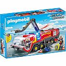 Playmobil 5337 Airport Fire Engine with Lights and Sound