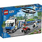 60244 Police Helicopter Transport - LEGO City