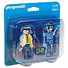 Playmobil 6844 Scientist and Robot