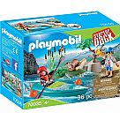 Playmobil 70035 Starter Pack Kayak Adventure
