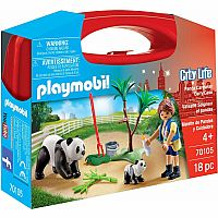 Playmobil 70105 Panda Caretaker Case