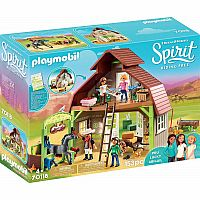 Playmobil 70118 Barn with Lucky, Pru and Abigail