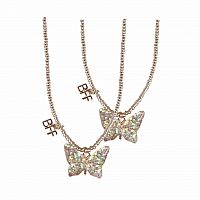 BFF Butterfly Tear & Share Necklaces