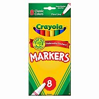 Crayola 8 ct. Fine Line Markers