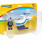 Playmobil 9383 1.2.3. Police Copter