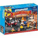Playmobil 9486 Construction/Fire Advent Calendar