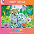 100 Piece Puzzle, Cat Best Friends