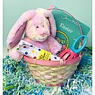 Baby Bunny Basket - Pink (For Babies)