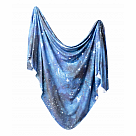 Copper Pearl Knit Swaddle, Galaxy