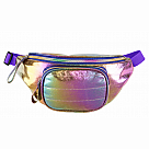 Cosmic Rainbow Iridescent Belt Bag