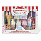 Ice Cream Sidewalk Chalk Set - Deluxe!
