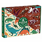 100 Piece Puzzle, Dino Dig Double Sided