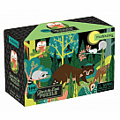 100 Piece Puzzle, In the Forest Glow in the Dark
