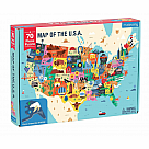 70 Piece Puzzle, Map of the USA