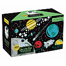 100 Piece Puzzle, Outer Space Glow in the Dark