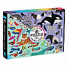 100 Piece Puzzle, Animal Kingdom Double Sided