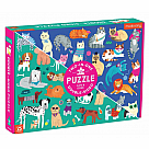 100 Piece Puzzle, Cats and Dogs Double Sided