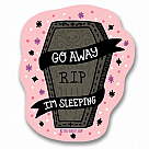 Go Away, I'm Sleeping Vinyl Sticker