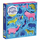 500 Piece Puzzle, Mammals with Mohawks