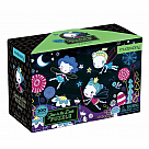 100 Piece Puzzle, Fairies Glow in the Dark
