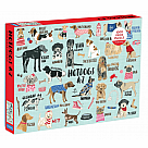1000 Piece Puzzle, Hot Dogs A-Z