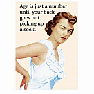 Age Is Just A Number Magnet