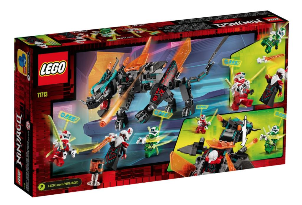 71713 Ninjago Empire Dragon - LEGO