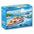 Playmobil 70091 Speedboat with Tube Riders