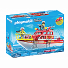 Playmobil 70147 Fire Rescue Boat