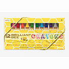 Brilliant Bee Crayons, Set of 12