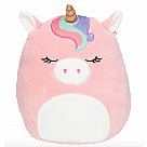"16"" Squishmallow, Ilene Pink Unicorn with Rainbow Bangs"