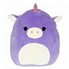 "16"" Squishmallow, Astrid Purple Unicorn"