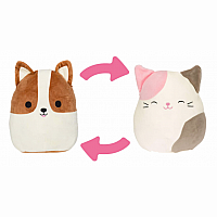 "12"" Flip-A-Mallow, Dog/Cat"