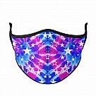 Medium Face Mask for Adults & Kids Ages 8+, Galaxy Tie-Dye