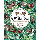A Million Sloths Coloring Book