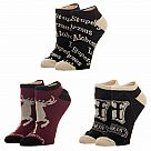 Harry Potter Advanced Wizardry Ankle Socks 3-Pack