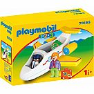 Playmobil 123 Airplane with Pilot and Passenger