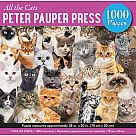 1000 Piece Puzzle, All the Cats