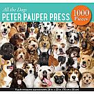 1000 Piece Puzzle, All the Dogs