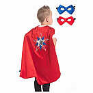 American Hero Cape and Mask Set