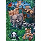 35 Piece Puzzle: Animal Kingdom